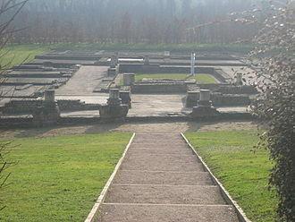 Vieux, Calvados - Roman ruins