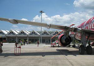 Langkawi International Airport - Boarding flight at Langkawi International Airport