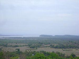 Ramree Island - View of Thun Site River from Ramree Island