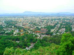 Tirupathi city view