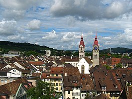 Winterthur - View of the old town