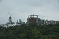 View of petrochemical plants in the north of Miaoli City from a high speed train 01.jpg