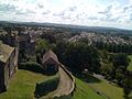 View over Clitheroe from Clitheroe Castle, 2009.jpg