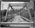 View west, longitudinal - Mill Street Bridge, Spanning Susquehanna River at Mill Street, Cooperstown, Otsego County, NY HAER NY,39-COOP,12-3.tif