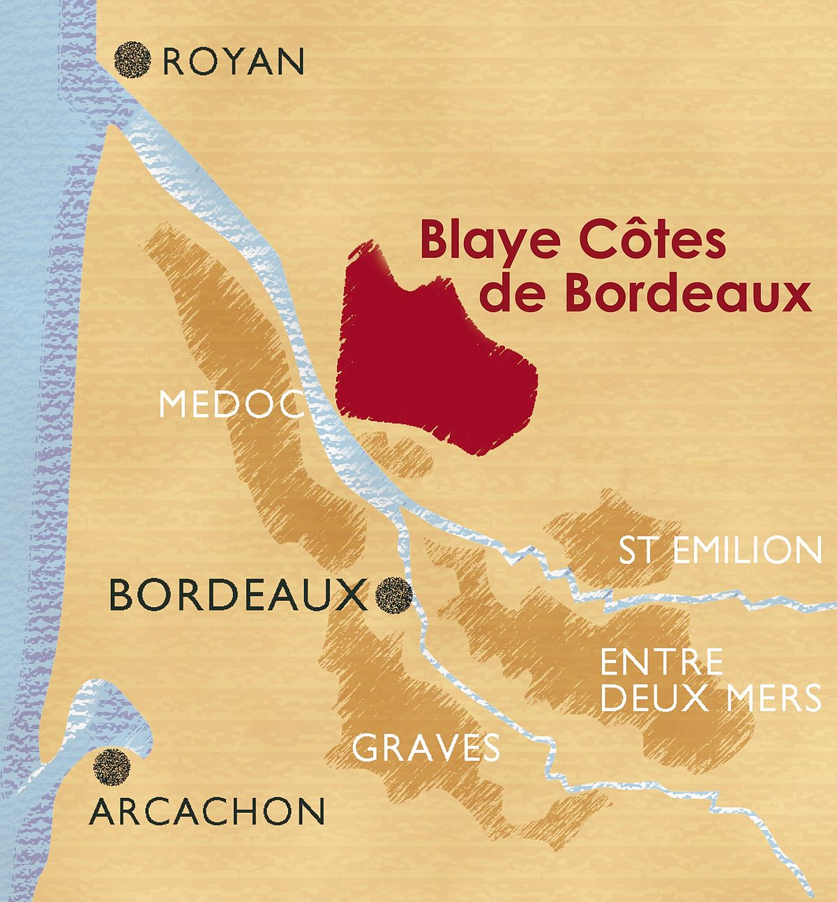 Carte Graphique Bordeaux.Blaye Cotes De Bordeaux Wikipedia