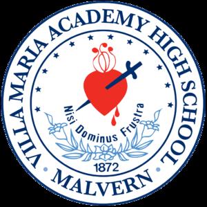 Villa Maria Academy (Malvern, Pennsylvania) - Image: Villa Logo trans