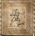 Villa Armira - Central Floor Mosaic in the National Historic Museum Sofia PD 2012 18.JPG