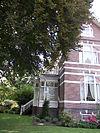 villa in een eclectische stijl met chalet- en art nouveaustijl-elementen 1899 - 2