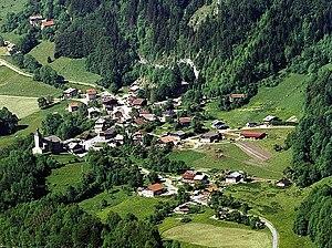 La Baume - An aerial view of La Baume