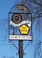 Village award sign, Barking Tye - geograph.org.uk - 653679.jpg