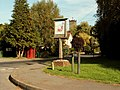 Village sign at Pebmarsh, Essex - geograph.org.uk - 244479.jpg