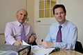 Vince Cable and Nick Clegg by the budget.jpg
