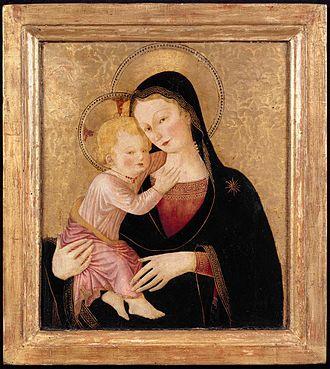 Bartolomeo Caporali - Virgin and Child