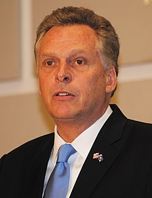 Virginia Governor Democrats Terry McAuliffe 095 (cropped).jpg