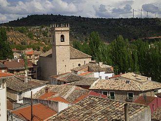Trillo, Guadalajara - Image: Vista de Trillo