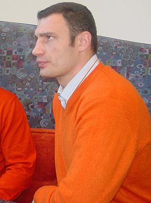Kiev local election, 2008 - Image: Vitali Klitschko