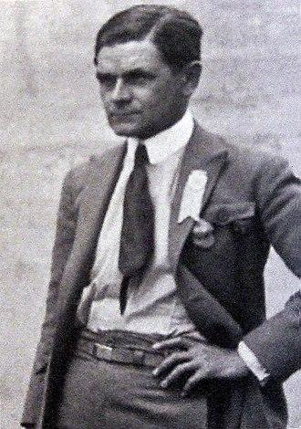 Vittorio Pozzo - Image: Vittorio Pozzo 1920 year