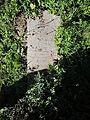 Vlachovo Březí, židovský hřbitov, náhrobky, 07.jpg
