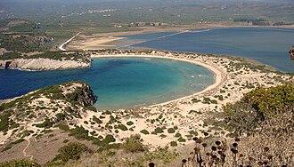 Voidokilia beach - Image: Voidokilia