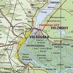 volgograd kart Volgograd demningen – Wikipedia