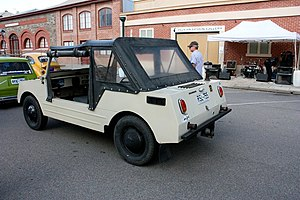 Volkswagen Country Buggy - Volkswagen Country Buggy side view
