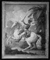 Volozan.-Portrait équestre de Toussaint Louverture sur son cheval Bel-Argent, 1800.png