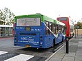 Volvo B6BLE bus with an East Lancashire Coachbuilders body at Oxford railway station.jpg