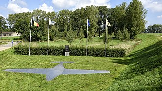 Mechelen incident - Today, a monument commemorates the crash