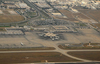 Tunis–Carthage International Airport - Aerial view