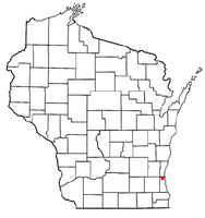 Location of Brown Deer, Wisconsin