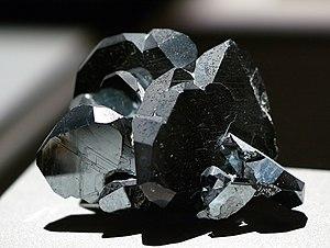 Hematite - Brazilian trigonal hematite crystal