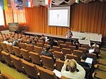 File:WM CEE Meeting 2013 - Kiril, WMF Grant Program, audience.jpg