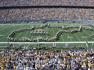 West Virginia Mountaineers - Formation of the state