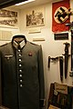 WW2 Nazi Germany uniform Wehrmacht officer's full dress tunic (Waffenrock) Eastern Medal, Wound badge, SA dagger scabbard, Geländefibel, Swastika flag, etc. US Museum.jpg