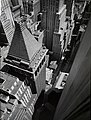 Wall Street from roof of Irving Trust Co Building in Manhattan in 1938.jpg
