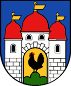 Coat of arms of the city of Schleusingen