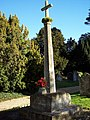 War Memorial at St Marys Church, Shrewton - geograph.org.uk - 328236.jpg