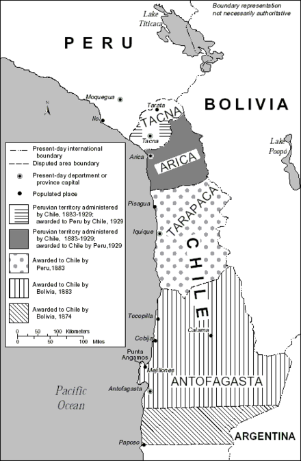 treaty between bolivia and chile essay The 10 most important events in the history of this treaty essentially ceded brazil to the portuguese chile and bolivia went to war after spending decades.