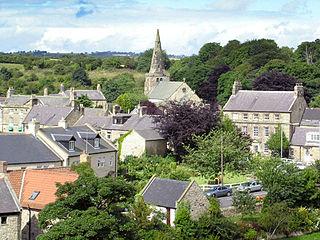 village in Northumberland, England