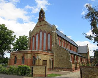 Brookwood Hospital - The chapel is now a Buddhist temple.