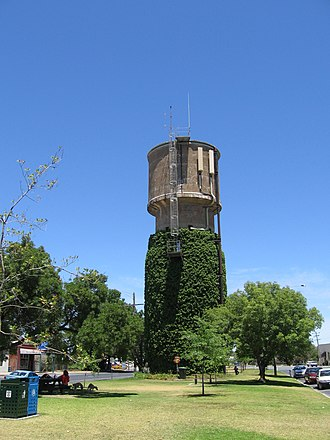 Nagambie - Image: Water Tower Nagambie