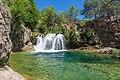 Waterfall Trail on Fossil Creek (30064919786).jpg