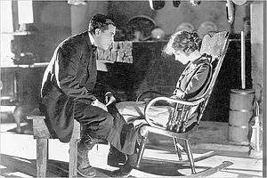 Way Down East - Richard Barthelmess and Lillian Gish in the film