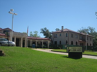 Webster Parish, Louisiana - Image: Webster Parish Library, M Inden, LA IMG 0561