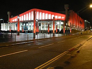 Concourse - Image: Wembley Arena concourse by Chris Downer