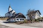 Wernberg Sternberg Pfarrkirche hl Georg Gasthaus und Pfarrhof 17032017 6683.jpg