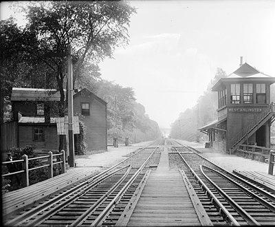 West Arlington station