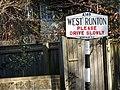 West Runton Road Sign, 29 February 2016 (2).JPG