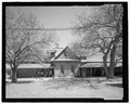 West elevation, north end of Main House - J A Ranch Headquarters, Main House, Paloduro, Armstrong County, TX HABS tx-3530-A-5.tif