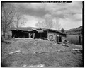 West side. - Bocco House, Northwest Junction-U.S. Highways 6 and 131, Wolcott, Eagle County, CO HABS COLO,19-WOLC,1-2.tif